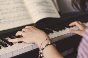 Piano easiest instruments to learn